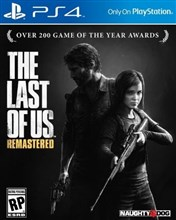 THE LAST OF US REMASTERED  FOR PS4 ریجن 2