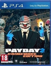 بازی  PS4 PAYDAY 2 CRIMEWAVE EDITION