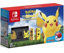 کنسول بازی نینتندو سوییچ NSwitch Pikachu  Eevee Edition Pokemon Poke Ball