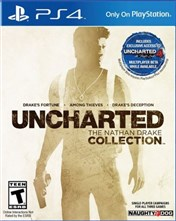 ریجن امریکا بازی Uncharted THE NATHAN DRAKE COLLECTION برای PS4