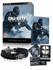 نسخه HARDEND  استیل بازیSTEEL CALL OF DUTY GHOSTS برای PS3