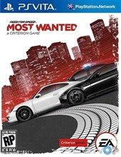 بازی NEED OR SPEED MOST WANTED برای PS VITA