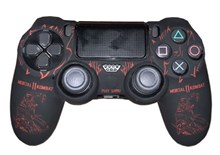 روکش دسته Dualshock 4 Cover - Mortal Kombat Red PS4