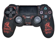 روکش دسته PS4 Dualshock 4 Cover - Red Dead Redemption 2 RED