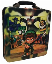طرح BEN 10  کیف ضد ضربه PlayStation 4 Slim Hard Bag Case