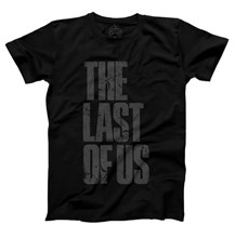 تی شرت The Last of Us T-Shirt - Grey Logo