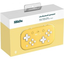 دسته بازی نینتندو 8BitDo Lite Bluetooth Switch Gamepad - Yellow