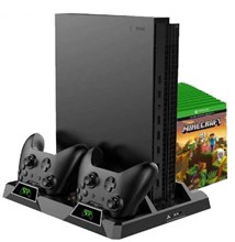 پایه شارژر دوبل DOBE All In One Multifunctional Vertical stand Xbox One