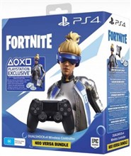 دسته بازی مشکی PlayStation 4  New Fortnite Wireless Jet Black