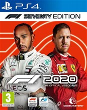 بازی F1 2020  Seventy Edition on PlayStation 4