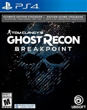 نسخه استیل بوک  PS4 Tom Clancy's Ghost Recon Breakpoint Steelbook Ultimate