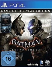 نسخه Game of the Year Edition بازی BATMAN ARKHAM  KNIGHT PS4