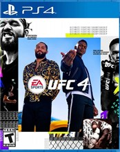 بازی مبارزه EA SPORTS UFC 4  on PlayStation 4