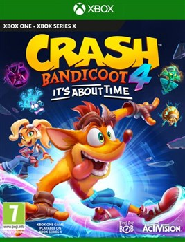 بازی Crash Bandicoot 4: It's About Time برای XBOX ONE