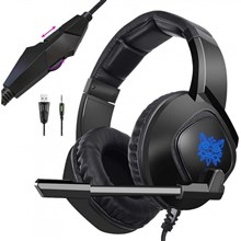 هدست گیمینگ  Onikuma K19 Gaming Headset - Black