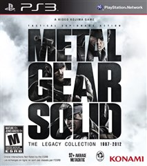 مجموعه بازی Metal Gear Solid: The Legacy Collection برای PS3