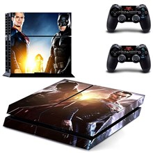 کاور اسکین PS4 طرح BATMAN VS SUPERMAN
