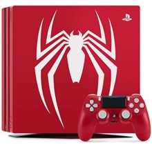 کنسول با بازی باندل LIMITED EDITION MARVEL SPIDER-MAN PS4 PRO