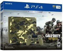کنسول بازی اسلیم  Playstation 4 Slim Bundle Call of Duty WWII