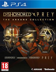 نسخه Arkane Collection بازی های  Dishonored & Prey برای PS4
