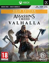 نسخه Gold Edition  بازی Assassin's Creed Valhalla برای  XBOX ONE-SERIES