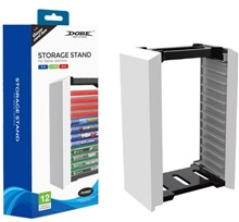 استند بازی Storage Stand Game Box Dobe PS5,Xbox Series, Nintendo switch,PS4,Xbox One