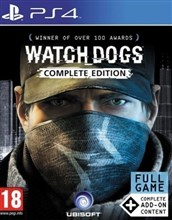 بازی WATCH DOGS COMPLETE EDITION برای PS4