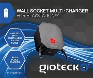 شارژ دوبل دسته Wall Socket DuallShock4 Ps4