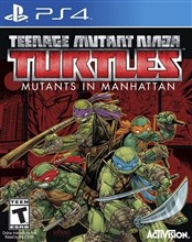 بازی Teenage Mutant Ninja Turtles Manhattan برای PS4