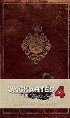 آرت بوک Uncharted Hardcover Ruled Journal