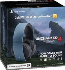 هدست 7/1 کاناله گلد  HEADSET UNCHARTED 4 GOLD