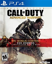نسخه GOLD بازی CALL OF DUTY ADVANCED WARFARE