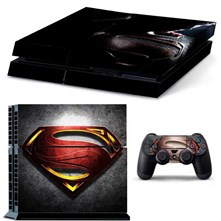 كاور اسكين PS4 طرح MAN OF STEEL
