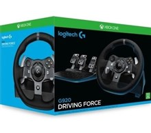 فرمان و پدال  G920 DRIVING FORCE RACING WHEEL Logitech برای XONE