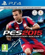 PES 2015 PRO EUOLUTION SOCCER DAY ONE EDIT FOR PS4