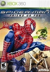 بازي  XBOX 360 SPIDER MAN FRIEND OR FOE