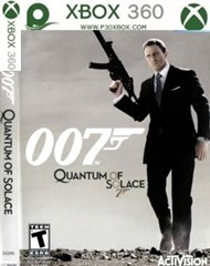 بازی James Bond 007 Quantum of Solace FOR XBOX 360