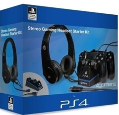 هدست PS4 stereo gaming headset starter kit