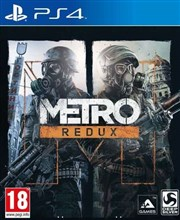METRO REDUX FOR PS4 بازی