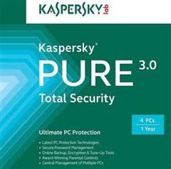 لایسنس Kaspersky Pure 3.0 - 4 pc