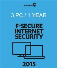 لایسنس F-Secure Internet Security 2015 3 PC