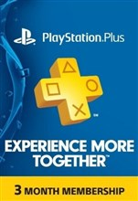 PSN پلاس 3 ماهه US PLAYSTATION PLUS Play online
