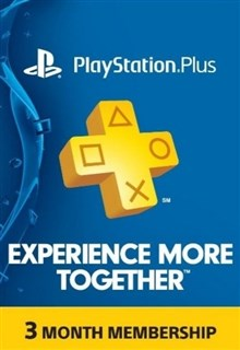 PSN پلاس 3 ماهه US PLAYSTATION PLUS