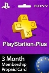 PSN پلاس 3 ماهه UK PLAYSTATION PLUS Play online