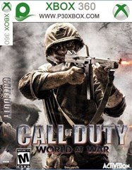 CALL OF DUTY WORLD AT WAR FOR X-360