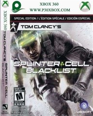 SPLINTER CELL : BLACKLIST FOR XBOX 360