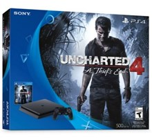 كنسول PS4  باندل آنچارتد  BUNDLE SLIM UNCHARTED 4