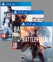مجموعه 3 بازی BATTLEFIELD COLLECTION
