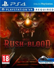 بازی Until Dawn Rush of Blood برای PS4 - VR