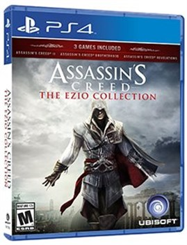 پک 3 بازیAssassins Creed The Ezio Collection برای PS4